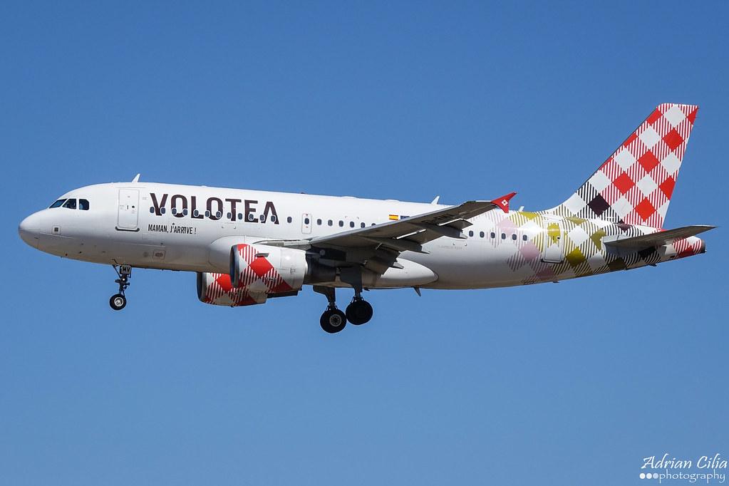 Volotea --- Airbus A319 --- EI-FMV