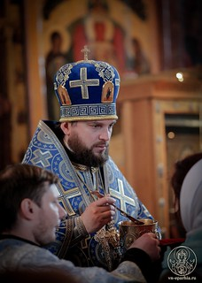 Литургия в Софийском соборе 330