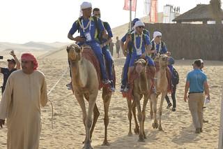 WorldSkills 2017 - Visita ao deserto de Abu Dhabi