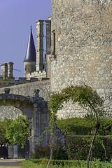 Montaigne's tower, St-Michel de-Montaigne, Dordogne, SW France
