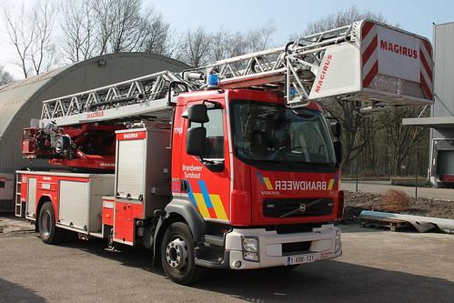 Ladderwagen T713 Brandweer Turnhout