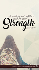 Isaiah 30:15 - In quietness and confidence