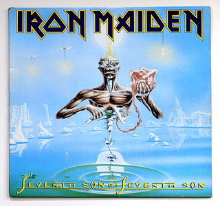 A0429 IRON MAIDEN Seventh Son of Son