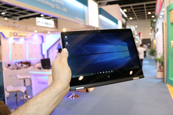 Skyworld expose un portable sous Intel Gemini Lake à Hong Kong