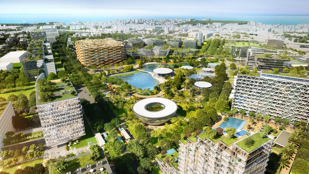 Thailand Digital Park Master Plan 1