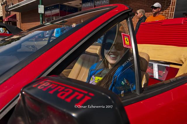 Up in a Ferrari