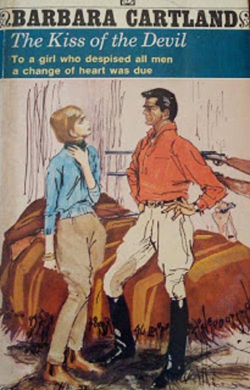 The Kiss Of The Devil - Barbara Cartland