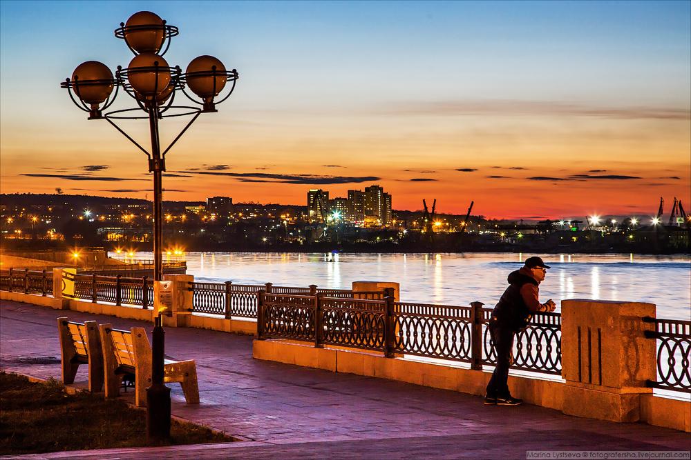 Байкал, Иркутск