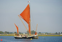 The Thames Barge 'Thistle' at Brightlingsea