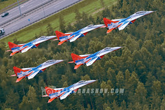 """Russia Air Force """"Strizhi"""" Mikoyan-Gurevich MiG-29 by The best from aviation"""