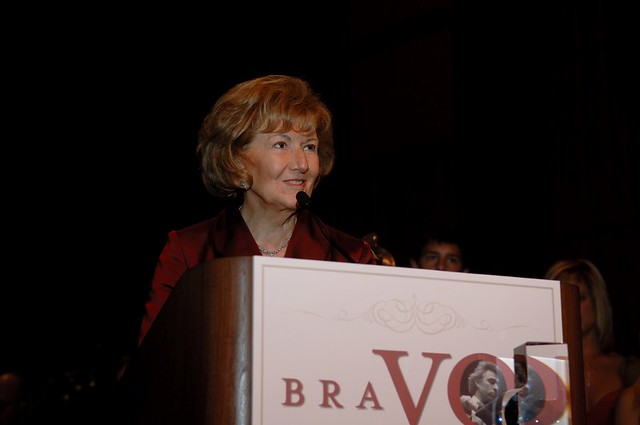 Helen DeVos awarded GR Symphony BRAVO! Lifetime Achievement Award