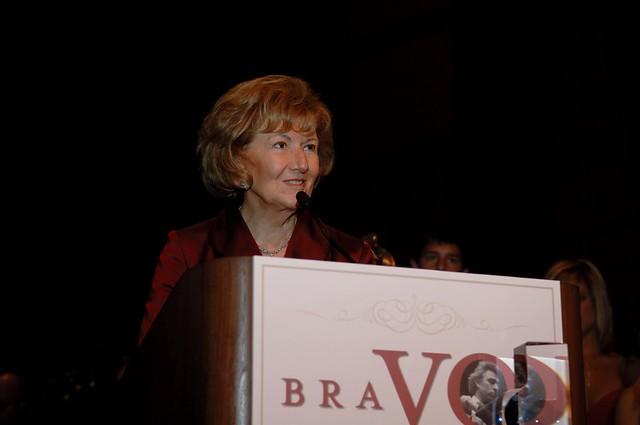 Helen DeVos awarded GR Symphony BRAVO! Lifetime Achievement Award