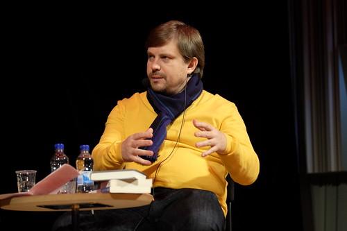 Ryske författaren Sergej Lebedev