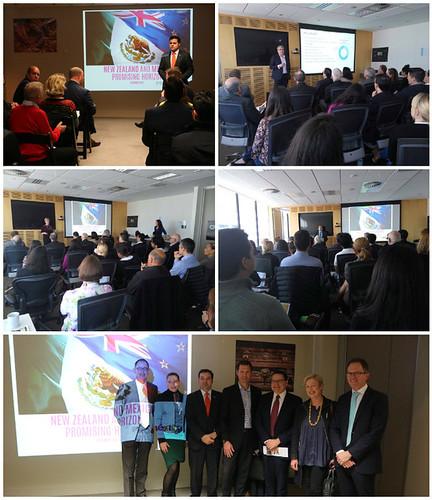 Seminarios de promoción económica en Nueva Zelandia en las ciudades de Wellington y Auckland