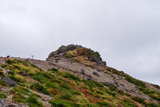 安達太良山頂