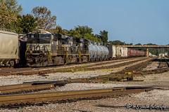NS 8061 | GE ES44AC | BNSF Yale Yard