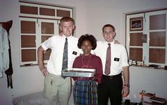 Tom's birthday in Santo Antao, 1994