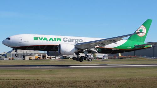 Boeing 777-F5E EVA Air Cargo B-16781 LN1526