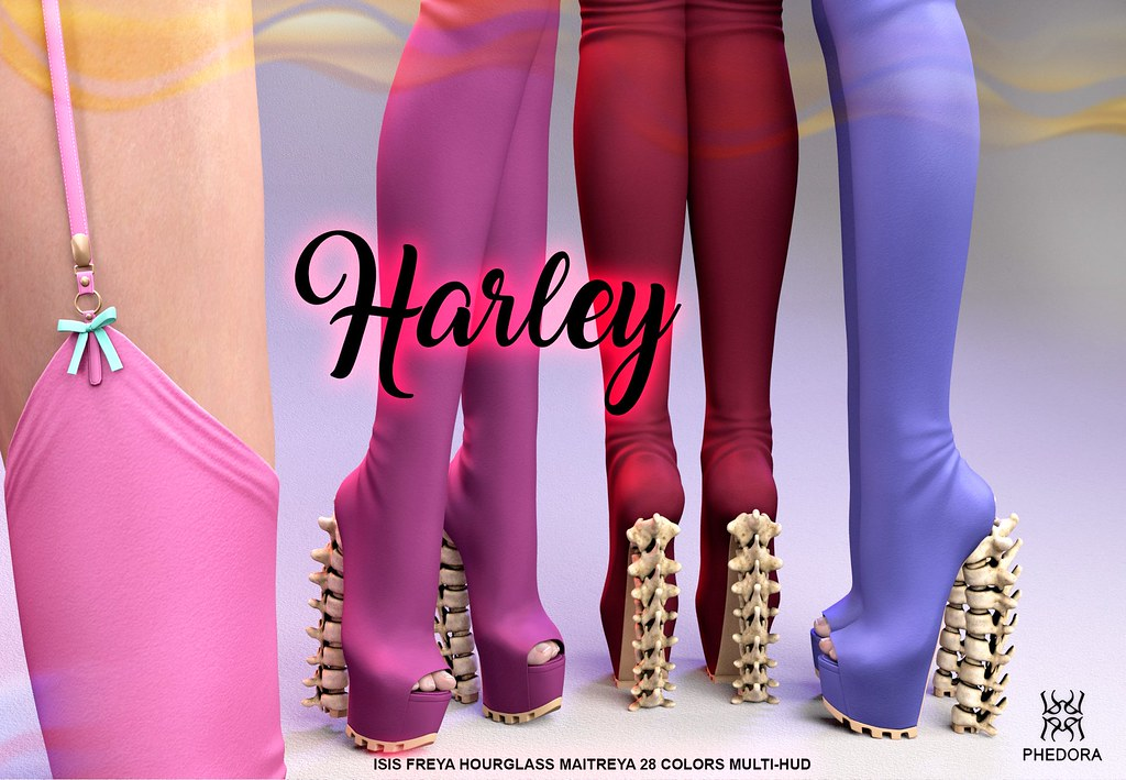 "Phedora. for Kinky Event – October Round- ""Harley"" thigh high boots! ♥"