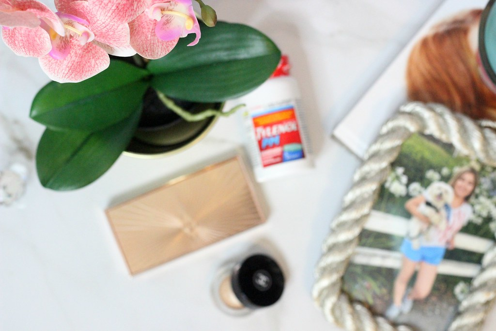 DIY Marble or Tile Tray for Tylenol PM #ForBetterTomorrows