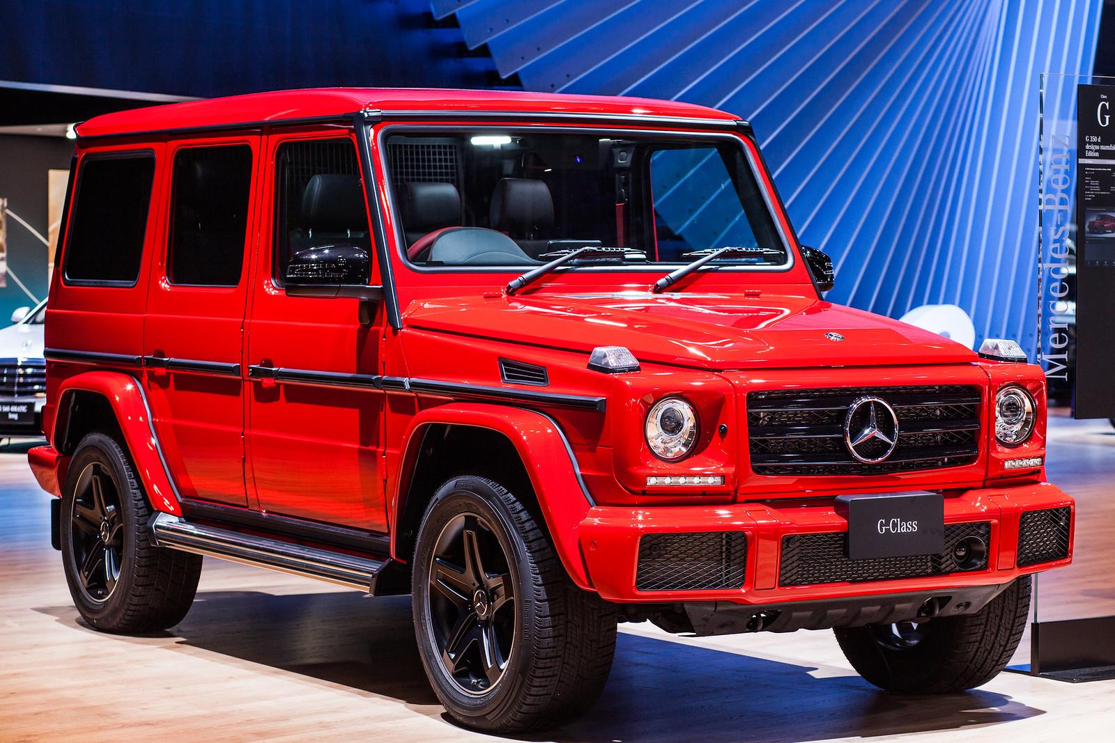TokyoMotorShow2017 - MercedesBenz - G 350 d designo manufaktur Edition
