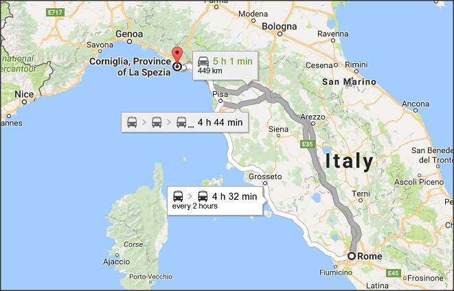 Corniglia seaside village Cinque Terre Italy