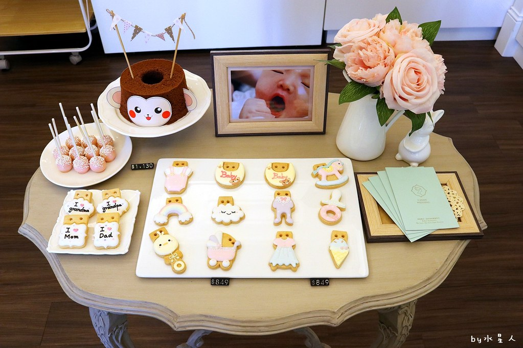26432810119 c9568db031 b - 熱血採訪|Candy Wedding 彌月蛋糕收涎餅乾,夢幻翻糖蛋糕和寶寶派對點心