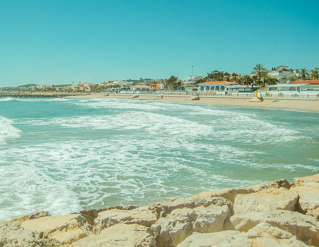 The tides and beaches of Marbella, Spain