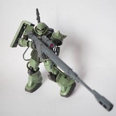 MS-06C /w ASR-78 & Belt bullet feed-type machine gun