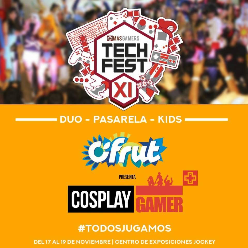 MasGamers Tech Fest XI presenta Cosplay Gamer