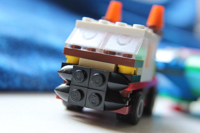 Lego-Sattelschlepper