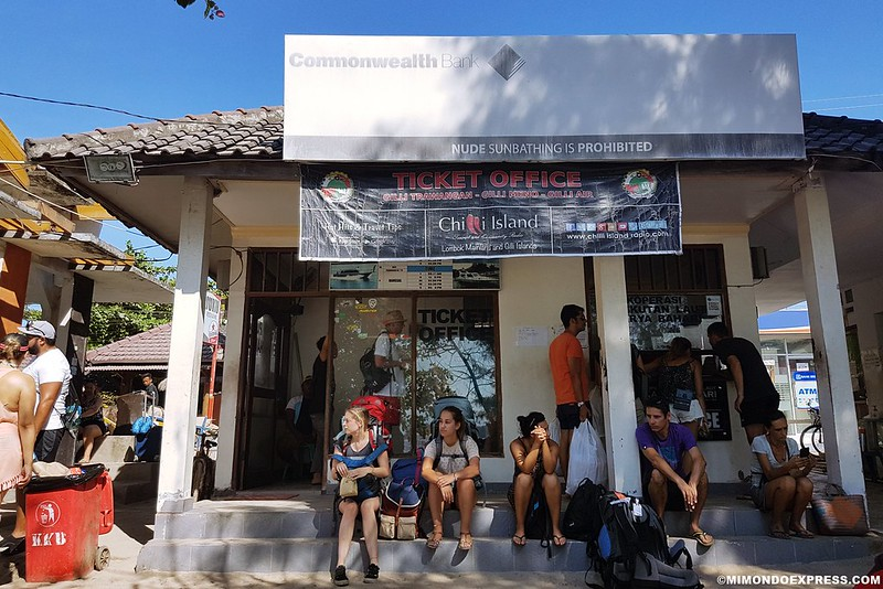 Tickets Públicos en Gili Trawangan