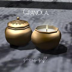 Granola. October Free Group Gift.♥