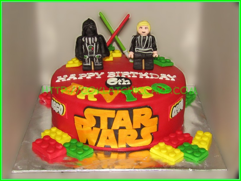 cake lego starwars ervito