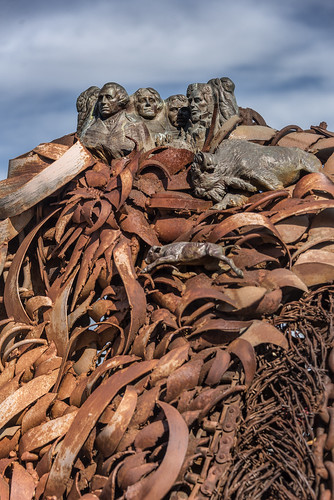 alouest225 nikon d750 nikon1635 buffalo ford metal johnlopez sculpture usa usa2017 unitedstates etatsunis southdakota