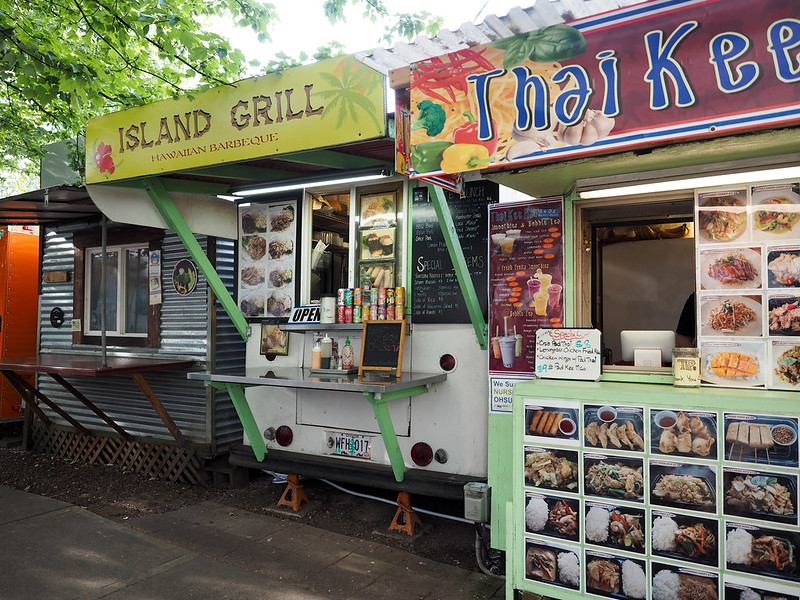 Food carts in Portland