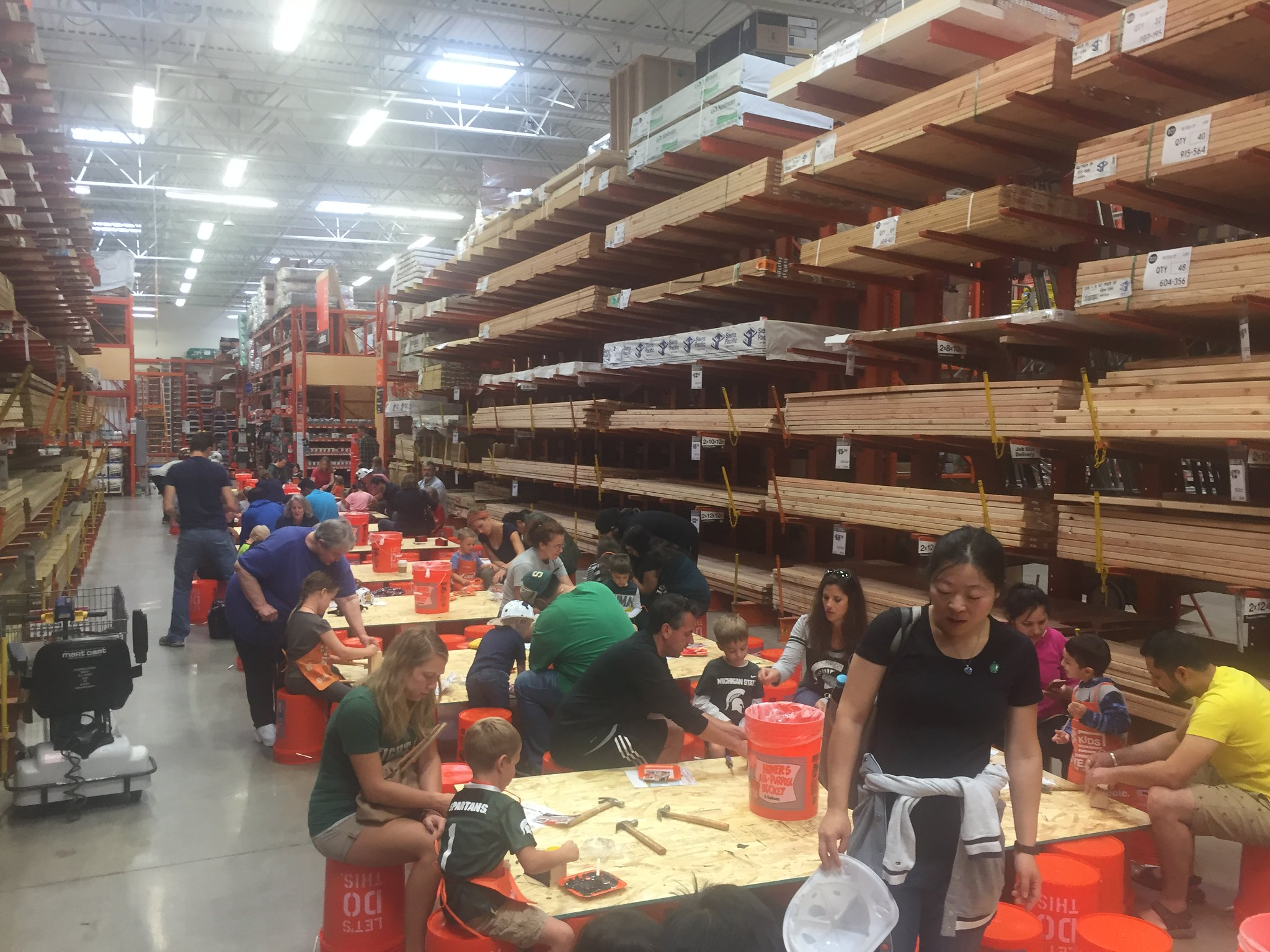 Home Depot Takes on Fire Safety Awareness Month