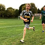 Who knew the kid would love Cross Country? He placed 21st in his meet today.