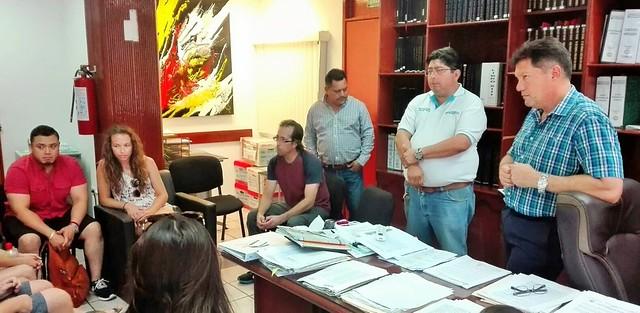 Participan en Curso Internacional de Planeación Estratégica