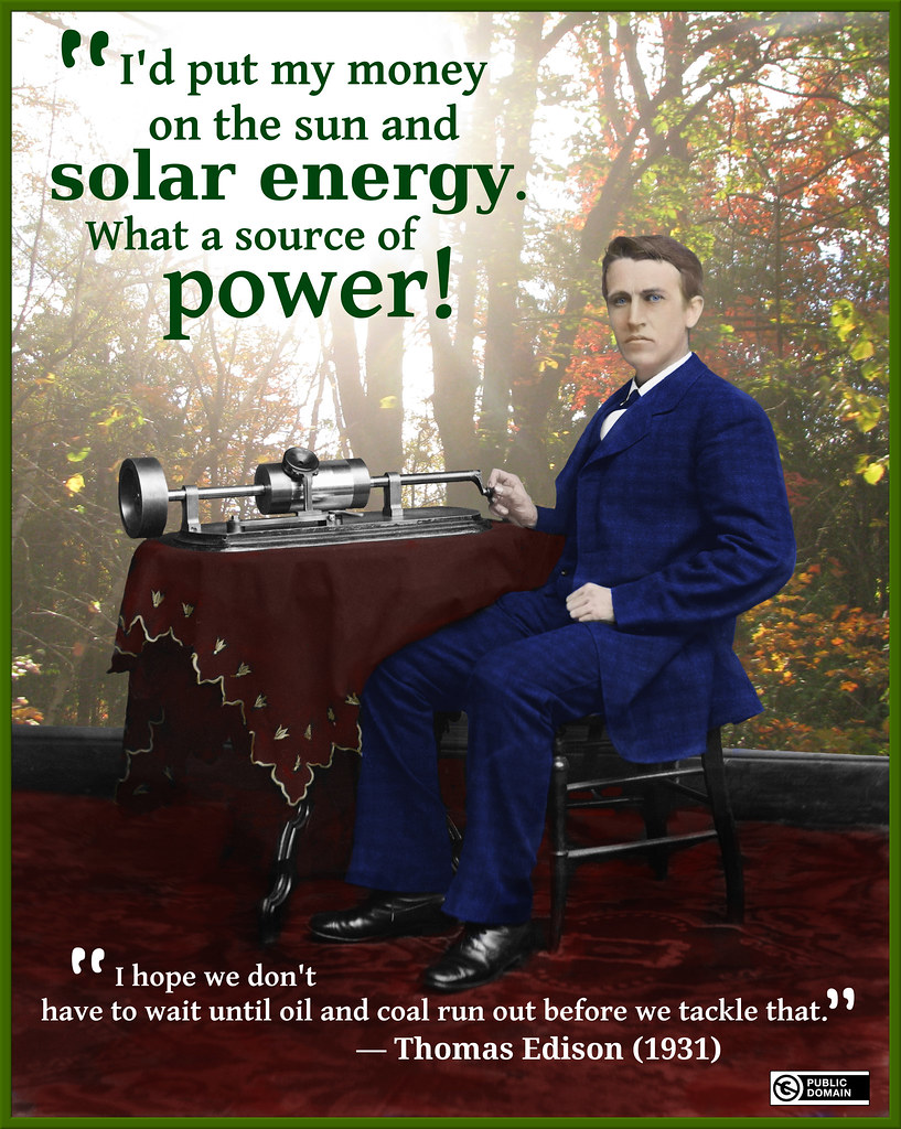 My Colourized EDISON quotation