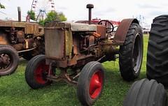 Vintage Case tractor - Brampton Fall Fair, Caledon, Peel Region, Ontario