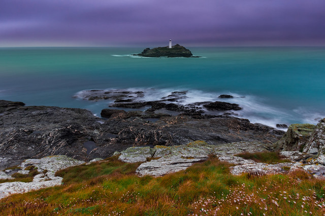 Godrevy Lighthouse in 25 seconds