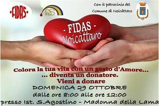 Noicattaro. Donazione Fidas