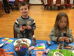 JEC Sukkah Decorations Making - 10/1/2017