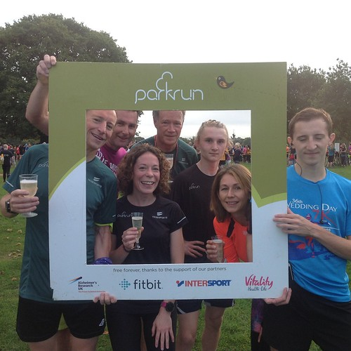 Bushy parkrun Saturday 30th