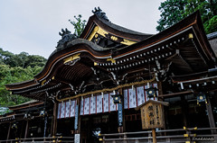 Photo:The worship hall of shinto shrine By snakecats