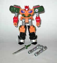 bludgeon transformers robots in disguise 2015 warrior class combiner force hasbro 2017 a