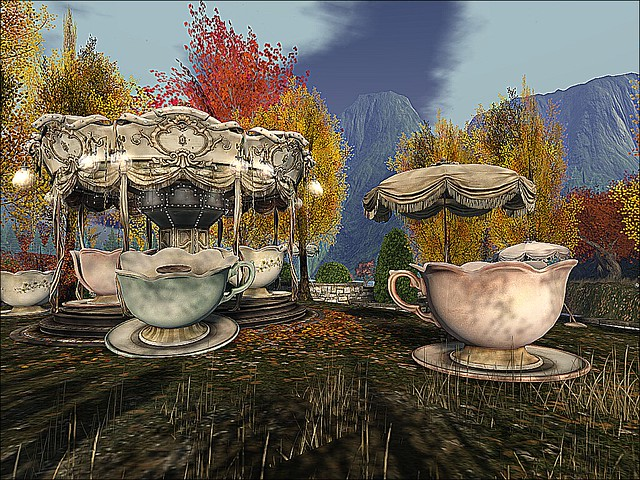 Garden of Absentia & Memorial -A Sunrise Cup of Tea II