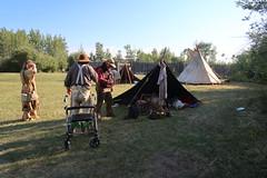 Rendez-vous event at Fort Bridger