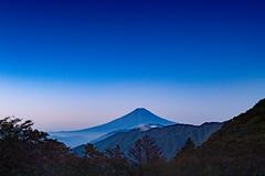 Fuji before dawn